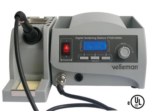 Soldering Station with LCD Output, 60W