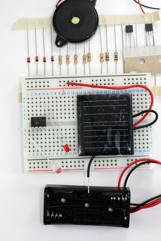 Solar Powered Electronics Experiment Kit