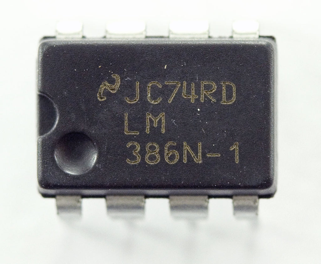 Lm386 Low Voltage Audio Power Amplifier Ic Hobby Engineering