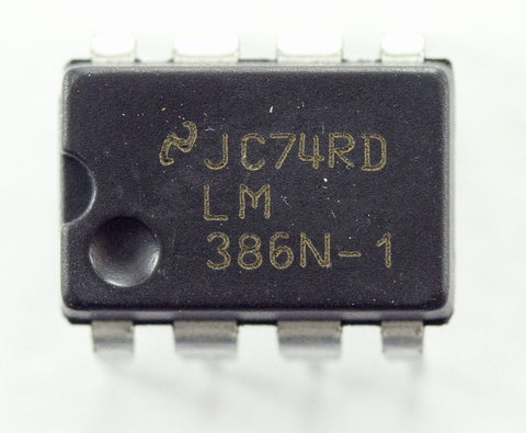 LM386 Low Voltage Audio Power Amplifier IC