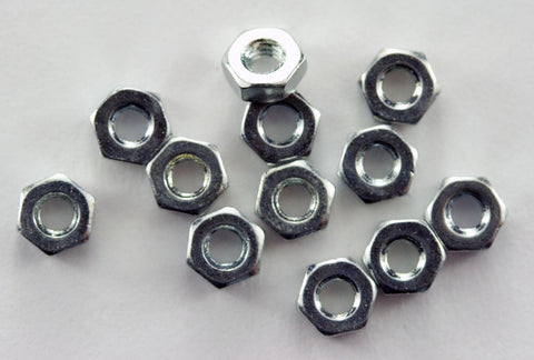 M2 Machine Hex Nut (Pack of 12)