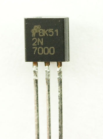 2N7000 MOSFET N-CH 60V 200MA TO-92 (Pack of 4)