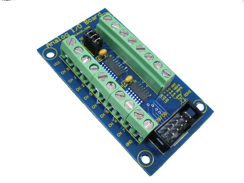 Analog-to-Digital (ADC) and Digital-to-Analog (DAC) I/O Board