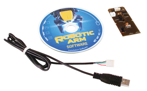 USB Interface for Robotic Arm Edge