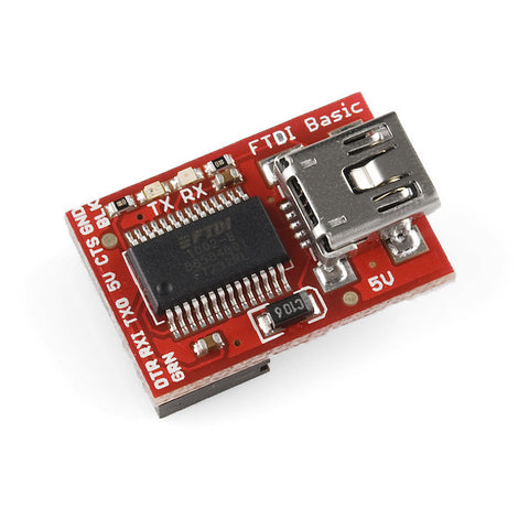 FTDI Basic Breakout - 5V - Female Header Output