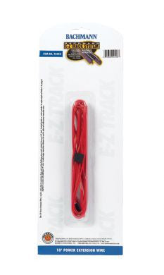 10 ft Red Terminal Extension Wire (All Scales)