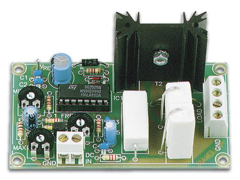 DC Motor Speed Controller Electronic Kit