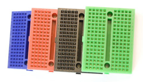 Solderless Breadboard w/ 170 Tie Points (Black)