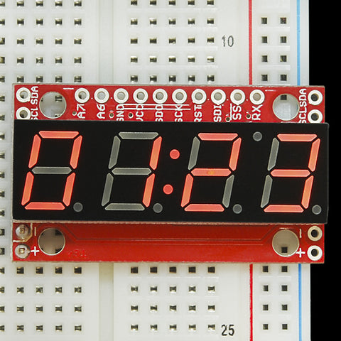 7-Segment Serial Display (Red)