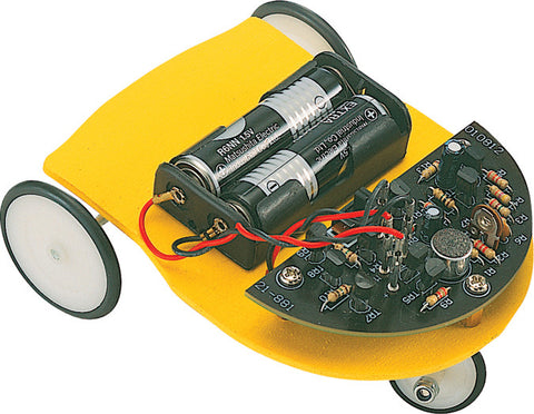 Sound Reversing Car Kit - Soldering Robot Kit