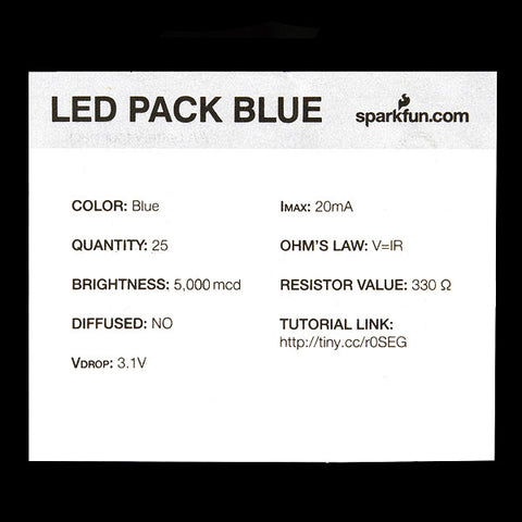 LED - Super Bright Blue (25 pack)
