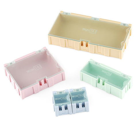 Modular Plastic Storage Box - Small (10 pack)