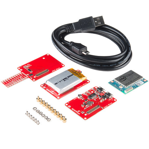 SparkFun Starter Pack for IntelAA(R) Edison