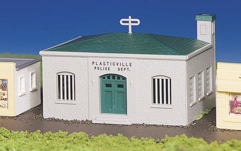 Police Station (HO Scale)