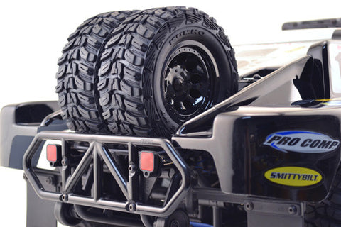 Dual Tire Spare Tire Carrier for the Traxxas Slash 2wd & Slash 4x4