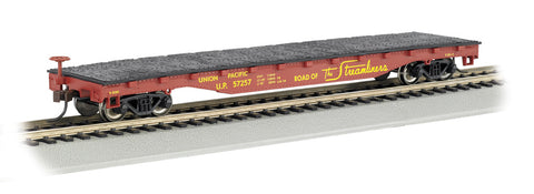 Union Pacific(R) - 52' Flat Car (HO Scale)
