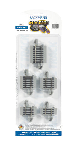 E-Z Track(R) Connector Assortment (HO Scale)