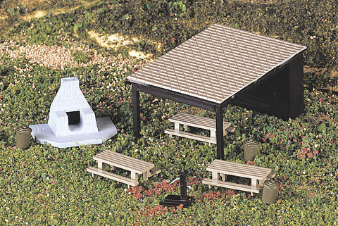Picnic Set (HO Scale)