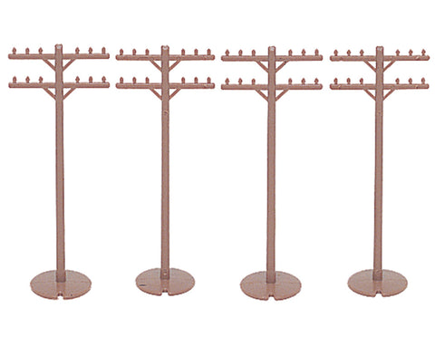 Telephone Poles (12 pieces)