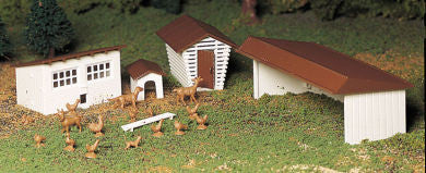 Farm Outbuildings (three per box)