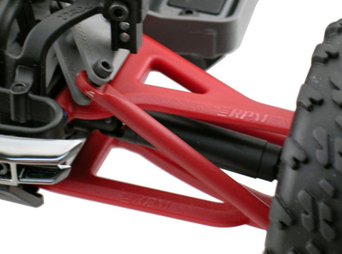 Front A-arms for the Traxxas 1/16th Scale Mini E-Revo   Red