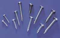 2 x 1/2 Button Head Sheet Metal Screws (QTY/PKG: 8 )
