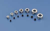 "1/16"" Plated Brass Dura-Collars Bulk (QTY/PKG: 12 )"