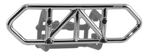 Traxxas Slash 4x4 Rear Bumper   Chrome