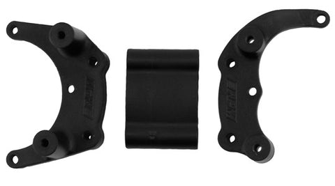 Black Traxxas Slash 2wd, e-Rustler, e-Stampede 2wd & Bandit Mount for a Rear Bumper or Wheelie Bar