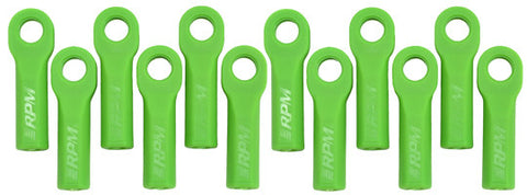 Traxxas Long Rod Ends   Green