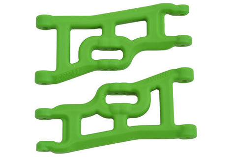 Offset-Compensating Front A-arms for the Traxxas Slash 2wd & Nitro Slash   Green