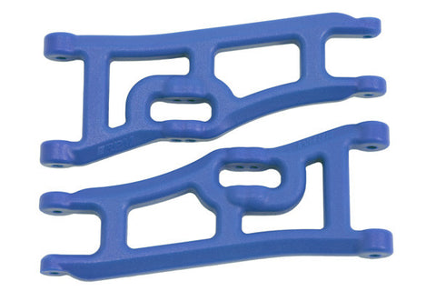 Wide Front A-arms for the Traxxas e-Rustler & Stampede 2wd   Blue
