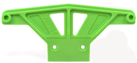Wide Front Bumper for Traxxas Rustler, Stampede 2wd, Nitro Sport & Bandit   Green
