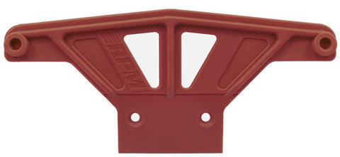 Wide Front Bumper for Traxxas Rustler, Stampede, Nitro Sport & Bandit   Red