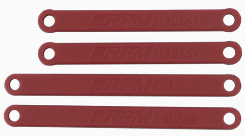 Traxxas Heavy Duty Camber Links   Red