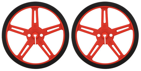 Pololu Wheel 70x8mm Pair - Red