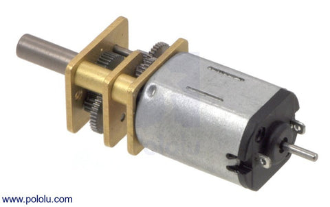 150:1 Micro Metal Gearmotor HP with Extended Motor Shaft