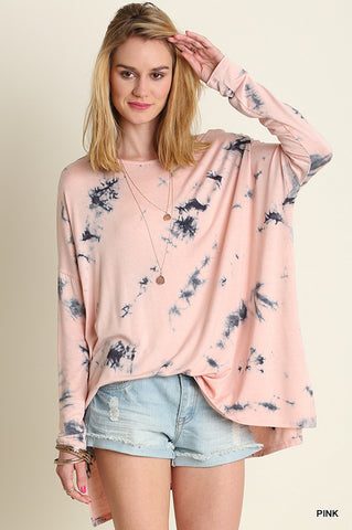 Pink Cotton Sky Top