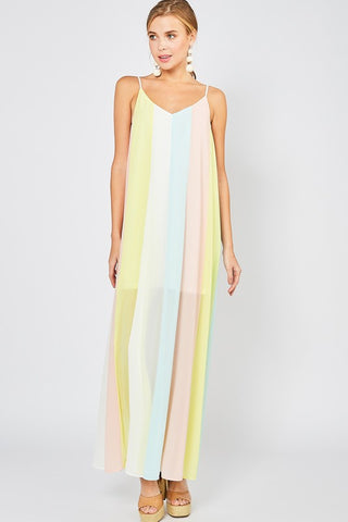 Summertime Soiree Colorblock Dress