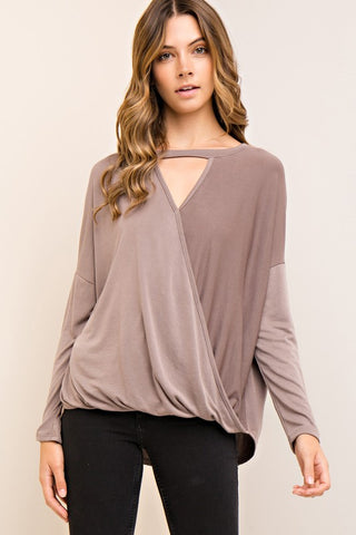 Sugar And Spice Wrap Top