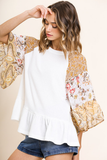 Sunshine All Around Boho Top