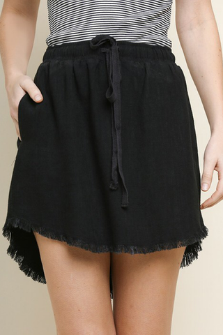 Brunch To Bubbles Fringe Skirt