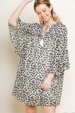 Goal Getter Leopard Print Dress