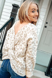 SoHo Chic Leopard Print Top
