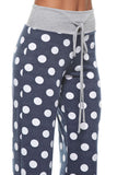 Polka Dots Print Lounge Pants