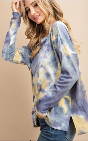 Seaside Bliss Tie Dye Top