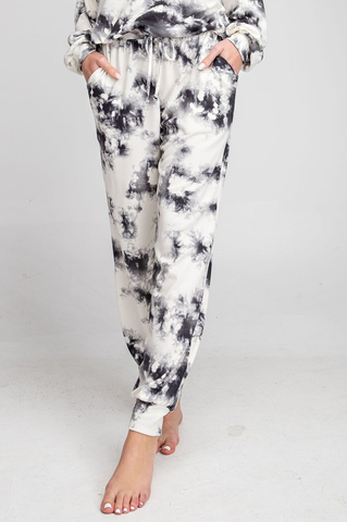 Your Best Life Tie-Dye Jogger Pants