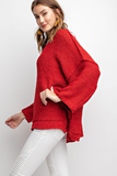Merry Kiss-Miss Oversized Knit Sweater