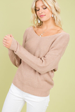 Star Struck Twist Front Or Back Sweater