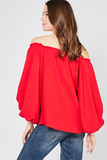 Caliente Off-Shoulder Top